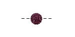 Violet Pave Round 8mm