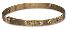 TierraCast Antique Brass (plated) Bangle