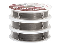 Soft Flex Trios Soft Touch Satin Silver Assorted Sizes Wire 3x10ft.
