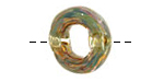 Unicorne Beads Mossy Green Brim Ring 22mm