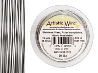 Artistic Wire Stainless Steel 20 gauge, 15 yards