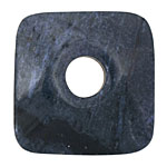 Dumortierite Square Donut 43-44mm
