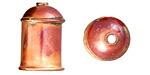 Patricia Healey Copper 11mm Bead Cap 23x15mm