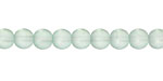 Seafoam Recycled Glass Round 6mm