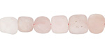 Rose Quartz (matte) Tumbled Nugget 6-9x8-11mm