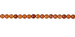 Hessonite Faceted Round 3.5-4mm