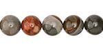 Polychrome Jasper Round 10mm