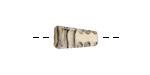A Beaded Gift Ivory Mini Pyramid 18x9mm