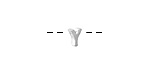 "Sterling Silver Letter ""Y"" Charm Slide 6mm"