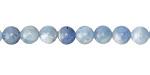 Aquamarine (multi-blue) Round 6mm