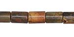 Red Creek Jasper Barrel 12x8mm