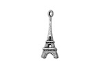 Zola Elements Antique Silver (plated) Eiffel Tower 6x24mm