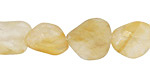 Citrine (Matte) Tumbled Nugget 9-18x10-13mm