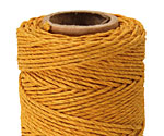 Gold Hemp Twine 20 lb, 205 ft
