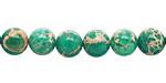 Emerald Impression Jasper Round 8mm