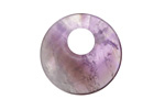 Dogtooth Amethyst Off Center Donut 25mm