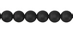 Black Onyx (matte AA) Round 8mm