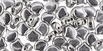 Silver Matubo Ginkgo Leaf 7.5mm Seed Bead