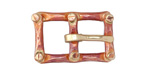 Patricia Healey Copper 10mm Flat Buckle 27x17mm