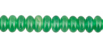 Green Agate Rondelle 8mm