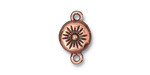 TierraCast Antique Copper (plated) Starburst Magnetic Clasp 17.5x11mm