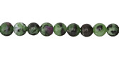 Ruby Zoisite Round 6mm