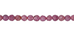 Ruby Faceted Round 4-5mm