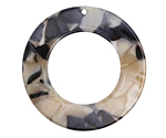 Black Pearl Acetate Donut 39mm