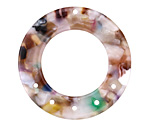 Zola Elements Garden Party Acetate Donut Chandelier 27mm