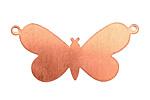 Copper Butterfly Link Blank 38x18mm