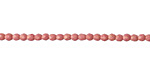 Czech Glass Pacifica Watermelon Fire Polished Round 2mm