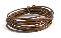 Coffee Leather Cord 1.5mm