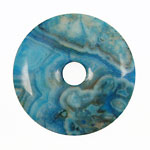 Larimar Blue Crazy Lace Donut 45mm