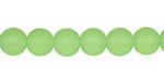 Peridot Recycled Glass Round 8mm