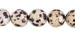 Dalmatian Jasper Round 12mm