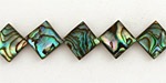 Abalone Diamond 13-14mm