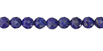 Lapis Faceted Round 6mm