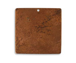 Vintaj Artisan Copper Large Square Altered Blank 29mm