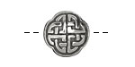 Pewter Celtic Knot Button 20mm