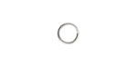 Silver (plated) Round Jump Ring 8mm, 16 gauge