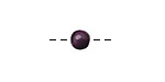 Tagua Nut Grape Round 6mm