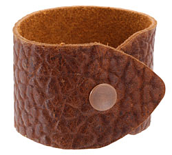 "The Lipstick Ranch Brandy Hornback Bull Hide Cuff Bracelet 1 7/8"" x 9"""