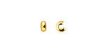 Gold (plated) Crimp Cover 4mm