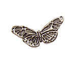 Green Girl Pewter Butterfly Centerpiece 38x20mm