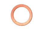 Copper Ring Blank Link 25mm