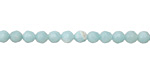 Amazonite (dark) Faceted Round 4mm