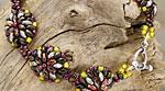 Bachelor Buttons Bracelet Pattern for CzechMates