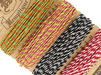 Summer Shindig 2 Hemp Twine 20 lb, 29.8 ft x 4 colors