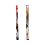 Zola Elements Garden Party Acetate Stick Drop 3x39mm