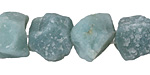 Amazonite (matte) Rough Nugget 11-18x13-20mm